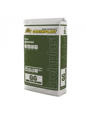 Гипсовая шпаклевка Greinplast 20 кг для стен, гипсокартона (финишная, для внутренних работ)