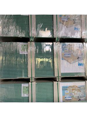 Гіпсокартон 12,5*1200*2000 Вологостійкий стіновий Кнауф
