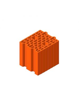 Керамический блок Теплокерам 25 Еко 7,62NF (250х250х238 мм) Керамейя
