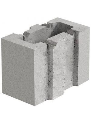 Шлакоблок бетонный стеновой 250х188х133