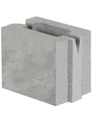 Шлакоблок бетонный перегородочный 115х188х165