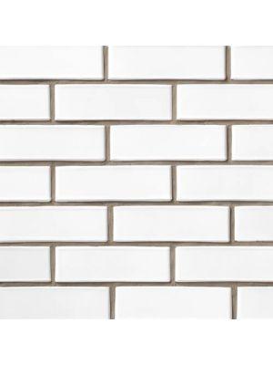 Кирпич СБК-Ромны Белый Молочный (Б) Половинка (250х60х65мм)