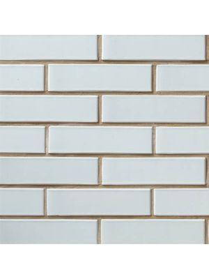 Кирпич СБК половинка глазурованный светло-серый