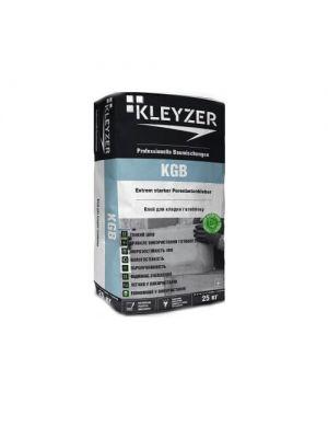 Белый клей для газобетона Kleyzer KGB, 25 кг