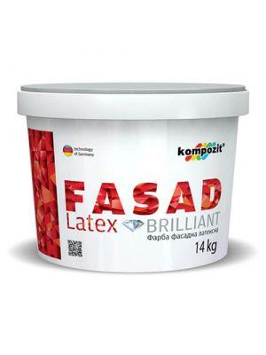 Краска фасадная FASAD LATEX Kompozit 14 кг
