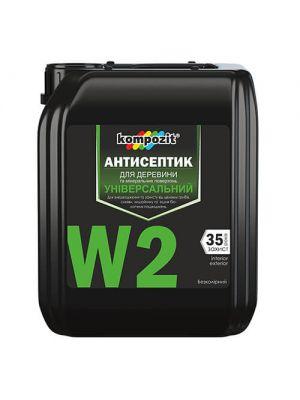 Антисептик универсальный W2 Kompozit, 5л