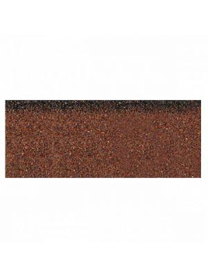 Коньково-карнизная плитка Акваизол коричневая микс