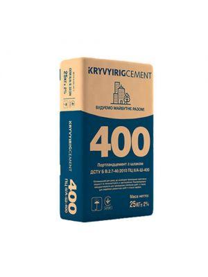 Цемент Криворізький ПЦ ІІ/А-Ш-400, 25 кг