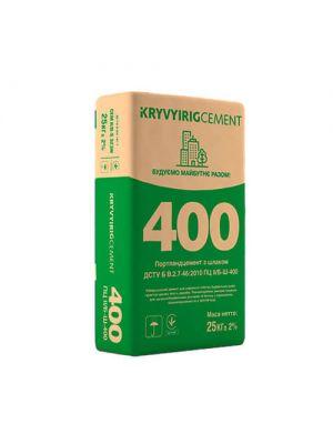 Цемент Криворізький ПЦ ІІ/Б-Ш-400, 25 кг