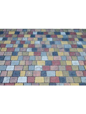 Тротуарная плитка Креатив Белый 60мм Золотой Мандарин