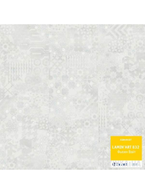 Ламинат Tarkett Lamin Art 832 Фьюжин белый 42268535