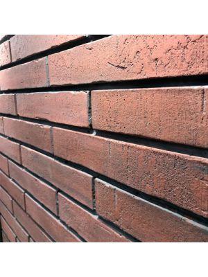Облицовочный камень Леванто Золотой Мандарин дарк браун угловой элемент (декоративный камень)