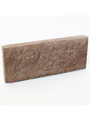 Цокольная плитка Литос Шоколад  (тонкий кирпич)