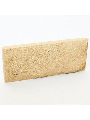 Цокольна плитка Літос Жовтий (тонка цегла)