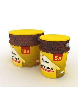 Мастика битумно-каучуковая в таре ОРЕОЛ-1 5л