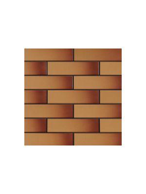 Глазурованная фасадная плитка медовая с оттенком