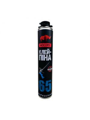Клей-піна Носоріг професійна в/с 850 мл