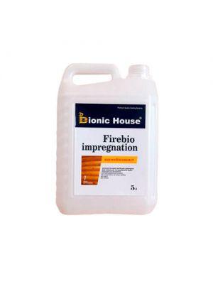 Огнебиозащитное вещество для древесины Bionic-House Firebio impregnation 5л