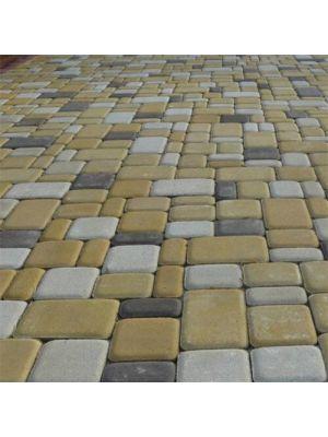 Тротуарная плитка ЭКО Старый Город 60 мм Оливковая