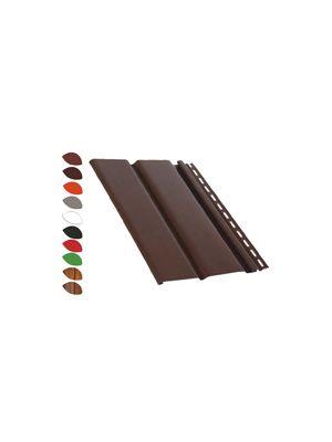 PD Profil Панель сплошная темно-коричневая