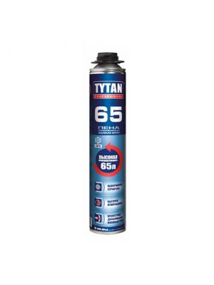 Пена монтажная зимняя TYTAN PROFESSIONAL O2 65 UNI