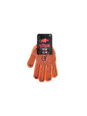 Перчатки оранжево-серые Носорог