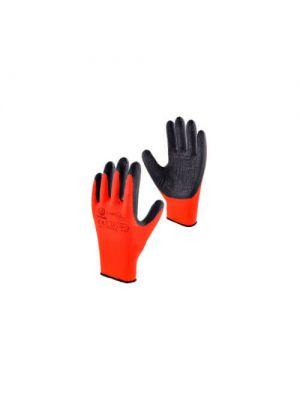 Перчатки защитные черно-красные RWnyIB+R