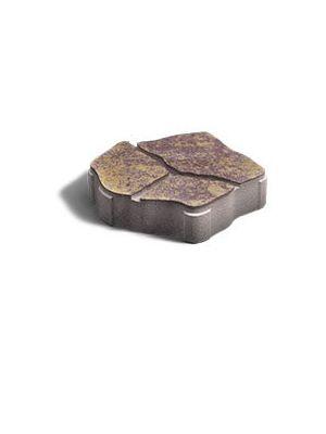 Тротуарная плитка Песчаник Генуя 60мм Золотой Мандарин