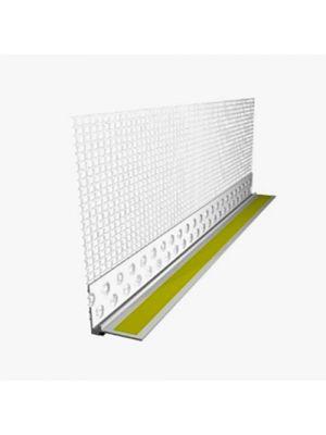 Планка ПВХ приоконная с сеткой ЕСО 2.4м