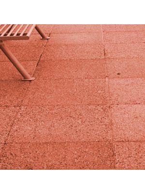 Плита тротуарная 600х600 мм корал меланж уличная Золотой Мандарин