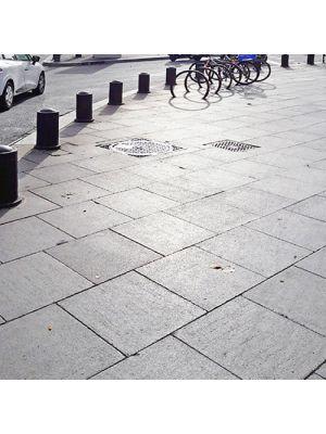 Плита тротуарная 600х600 мм уличная Золотой Мандарин