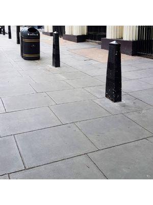 Плита тротуарная 600х600 мм серая уличная Золотой Мандарин
