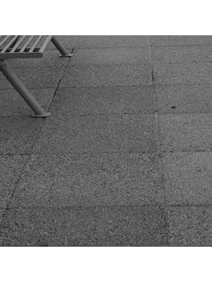 Плита тротуарная 600х600 мм жемчуг меланж уличная Золотой Мандарин