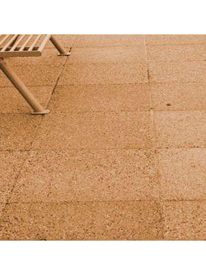 Плита тротуарная 600х600 мм танжерин меланж уличная Золотой Мандарин