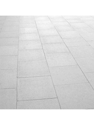 Плита тротуарная 600х600 мм белая уличная Золотой Мандарин