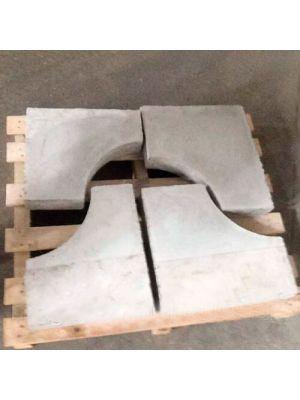 Огнеупорная плита для печей индукционных INDUSTOV-50