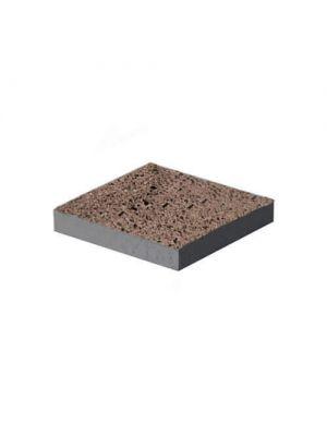 Бетонная тротуарная плита 1500х1500 аризона полированная (под камень) Золотой Мандарин