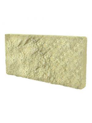 Цокольная плитка ТРВ Скала оливково-желтая