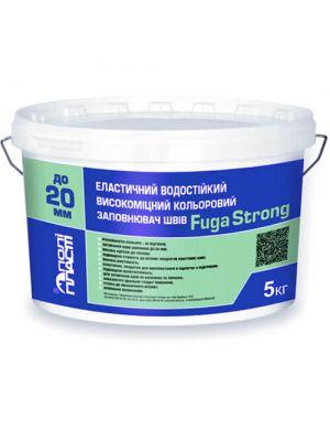 Полипласт FUGA STRONG Эластичный водостойкий высокопрочный цветной шов