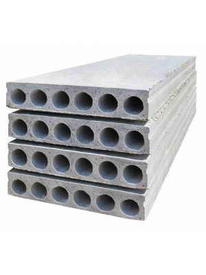 Пустотна плита перекриття ПК 40-12-12.5 (3,5 м - 4 м)