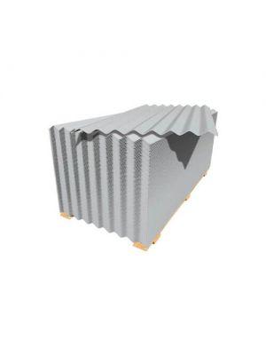 Краматорский шифер 1750х1130х5,8 мм волновой асбестоцементный