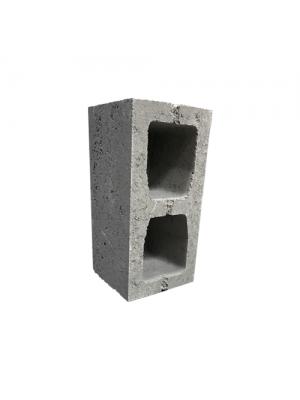 Бетонний стіновий блок М-100 190х190х390 мм
