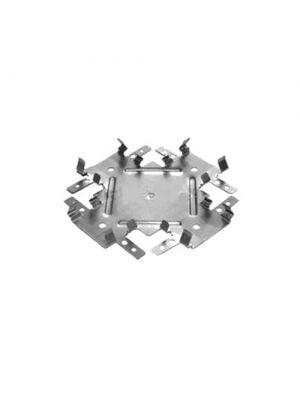 Соединение двухуровневое крестовое для гипсокартона