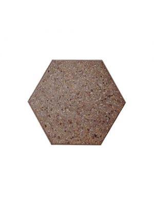 Тротуарная плитка Сота под природный камень 60мм гранит полированная Золотой Мандарин