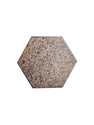 Тротуарная плитка Сота под природный камень 60мм танзания полированная Золотой Мандарин