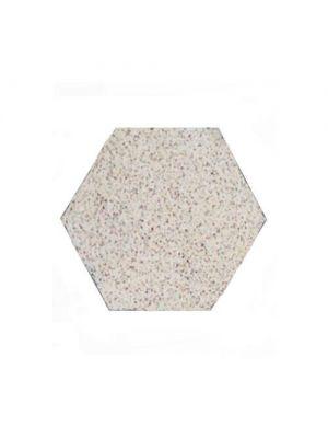 Тротуарная плитка Сота под природный камень 23мм белая полированная Золотой Мандарин