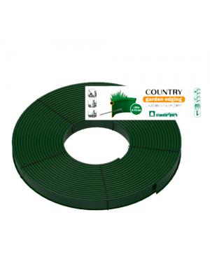 Бордюр пластиковый Кантри Б-8000.2.11-ПП зеленый