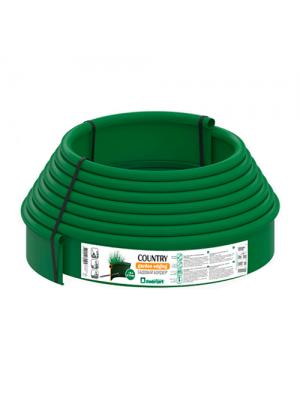 Бордюр пластиковый Кантри Б-1000.2.11-ПП зеленый