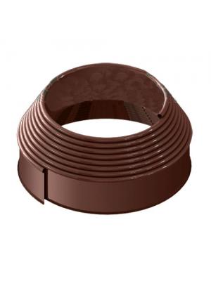 Бордюр пластиковый Кантри Лайн Б-900.10.2-ПП коричневый