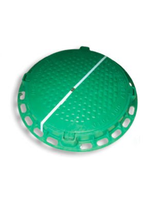 Люк садовый полимерный зеленый 790 мм